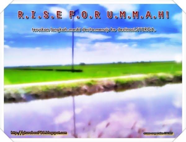 rise for UMMAH!