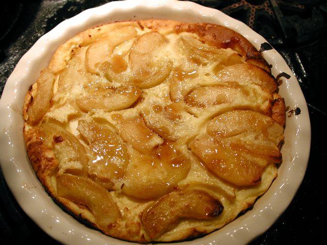 Brandy Applesauce Cake