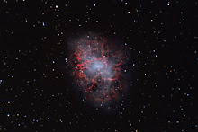 The Crab Nebula taken by Stefano Compani & David Manca