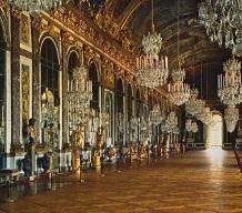 Salón de los espejos en Versalles