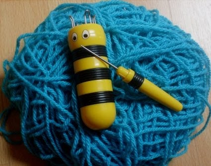 Marion 39 s handmade - Comment faire du tricotin ...