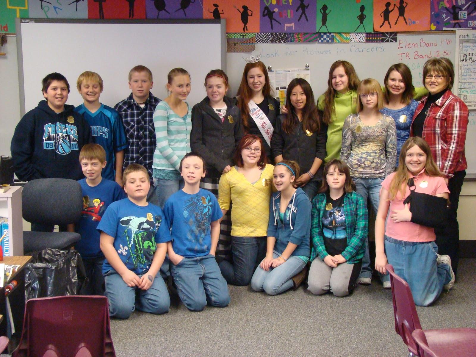 Brianna Drevlow: 1/12/2011 Mrs. Broderson\'s 6th grade class ...