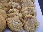 Rustic White Chocolate Chunk Cookies