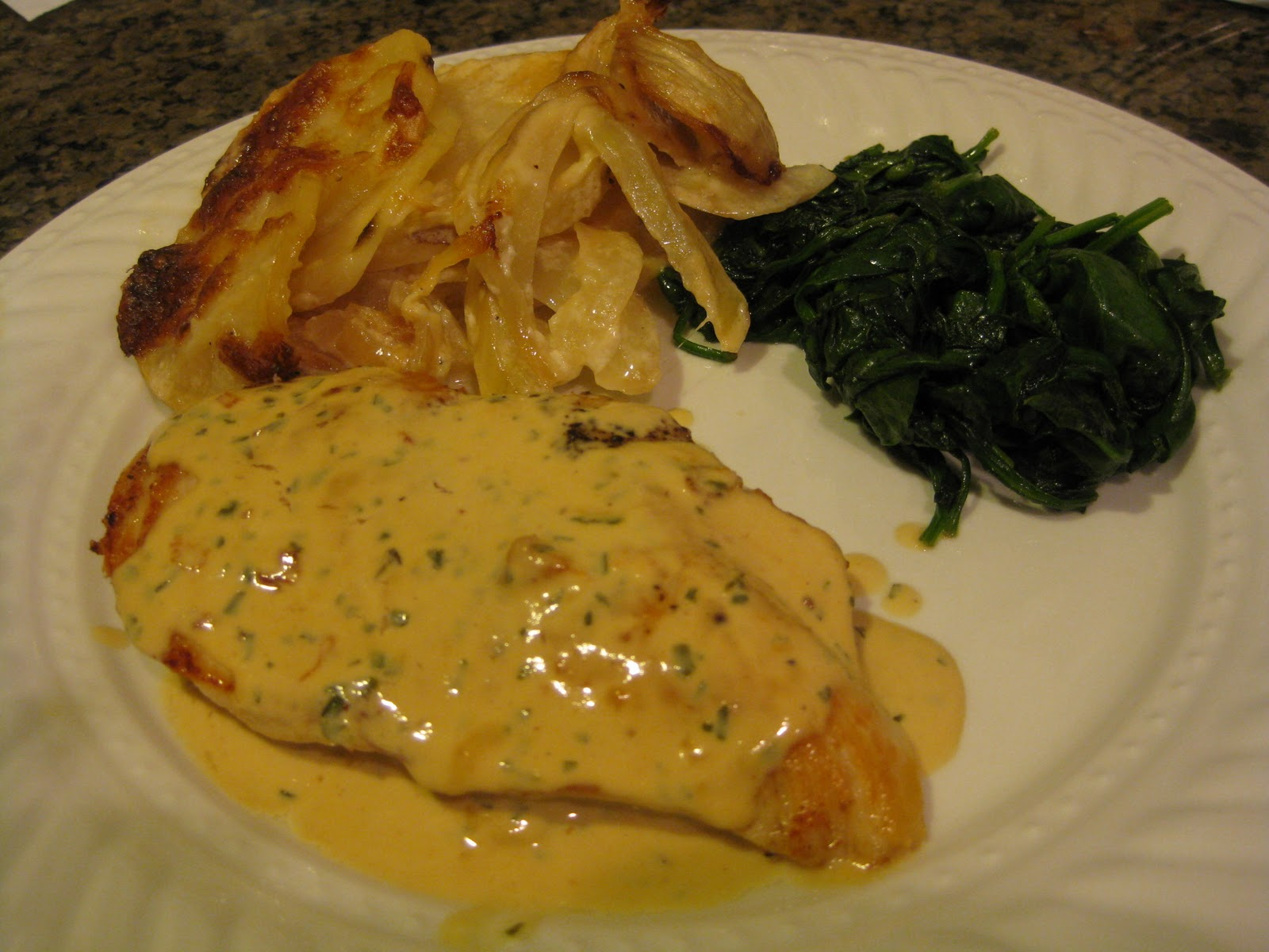 ... Step-by-Step Recipe: Sauteed Chicken Breasts with Creamy Mustard Sauce