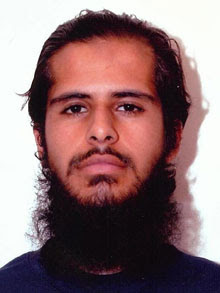 Suspected Islamist Aabid Hussain Khan