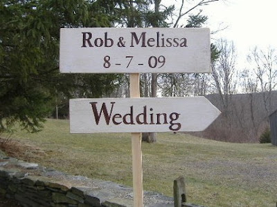 Unique Wedding Signs