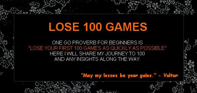 Lose 100 Games