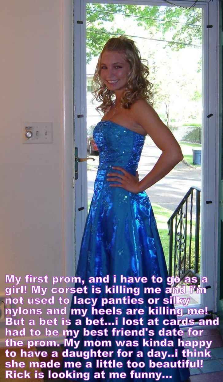 Good Prom Pic Captions Forced Feminization Captions Prom