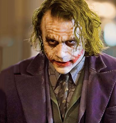 Heather Ledger as the Joker