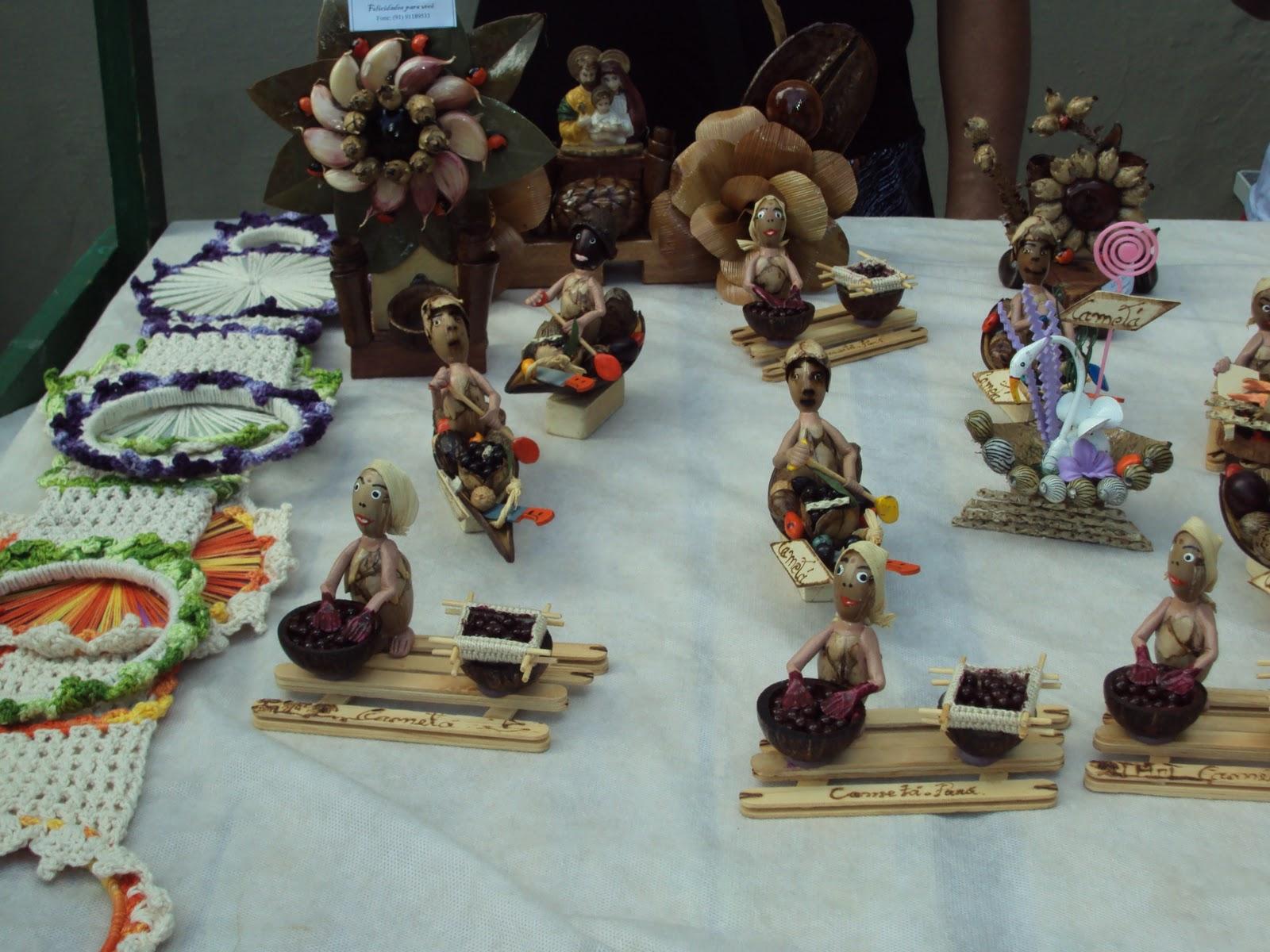 Ponto de cultura de camet exposi o de artesanato for Cameta com