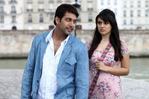 Engeyum Kadhal Tamil Movie Stills Hanshika Jayam Ravi. Hanshika Motwani debute Tamil movie Engeyum Kadhal movie stills, Jayam Ravi is the hero of the movie