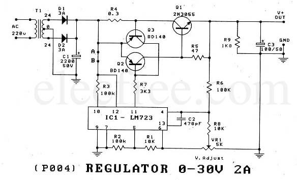 Lm 723 Cn together with Elect9 together with 7815 Datasheet as well All p1 further Be Ec Syllabus. on ic 723 voltage regulators