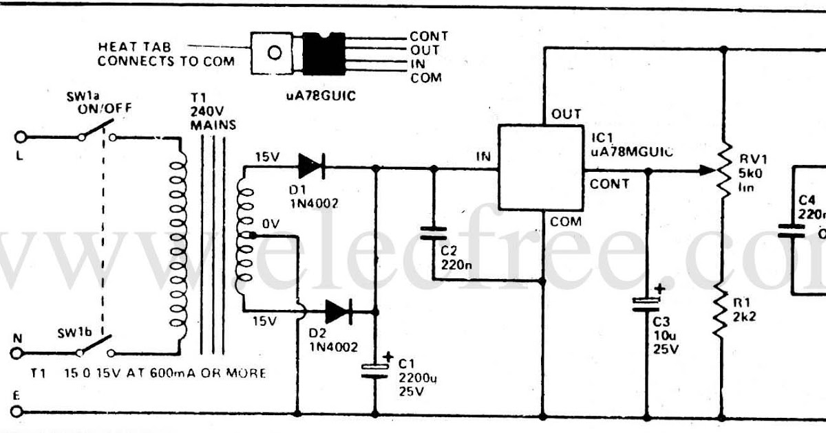 electronic  u0026 computer  single ic power supply by 78