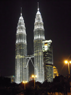 KLCC or Petronas Twin Towers