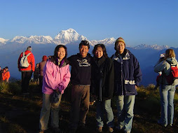 Nina,Fei,Maio & Me in Poon Hill