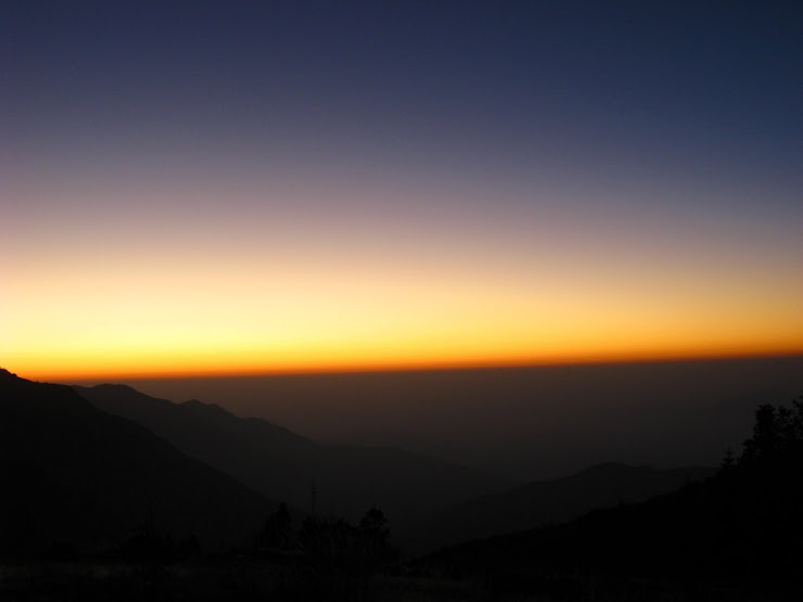 The Golden Sunrising from Poonhill(3210Mtr)