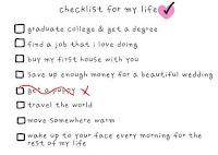 self checklist =)