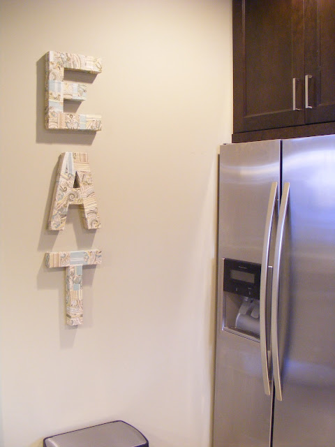 diy my kitchen eat sign inspiration for moms rh inspirationformoms porch com eat letters kitchen decor silver eat letters for kitchen