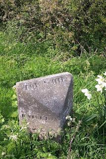Boundary stone, Hognaston Winn