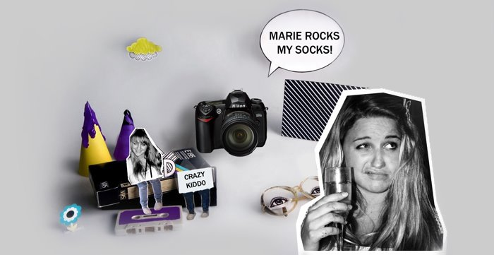 Marie rocks my socks!