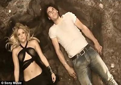 Rafael Nadal and Shakira