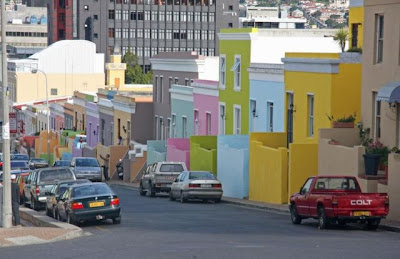 The Colorfull Cape Malay District Block Photos