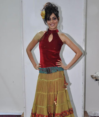 Genelia in Red Dress