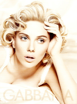 Scarlett Johansson 's New D&G Ads Photos