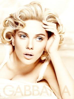 Scarlett Johansson 's New D&G Ads Photos
