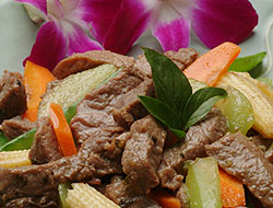 Thai Beef and Vegetables