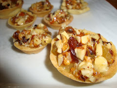 Mini tarteletas con frutos secos