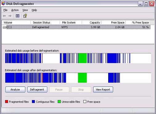 Как на windows 8 сделать дефрагментацию