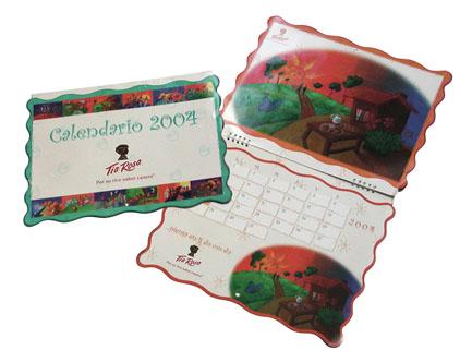 Calendario Tia Rosa 2004. Bimbo
