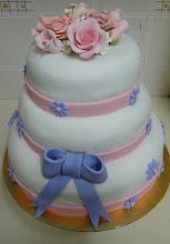 Wedding Cake-Fondant Cake
