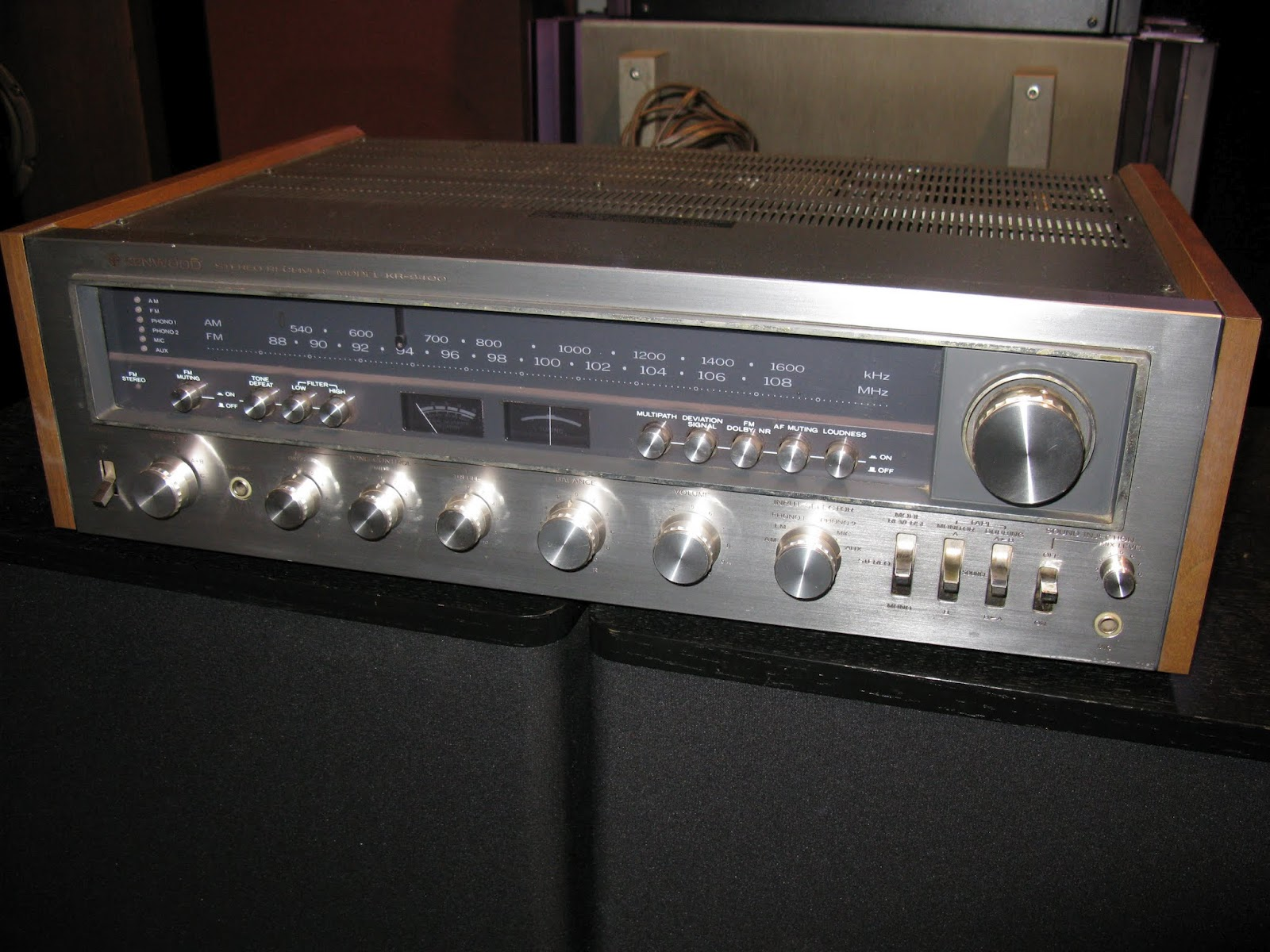 Recycled Stereo Plus Kenwood Kr 9400 Classic Receiver On Wiring Diagram For Surround Sound Sale 29500