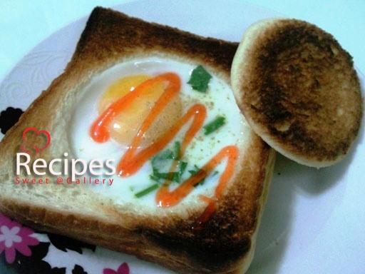 Resepi Roti Bakar Telur Mata Istimewa