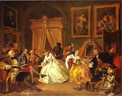 La toilette, William Hogarth