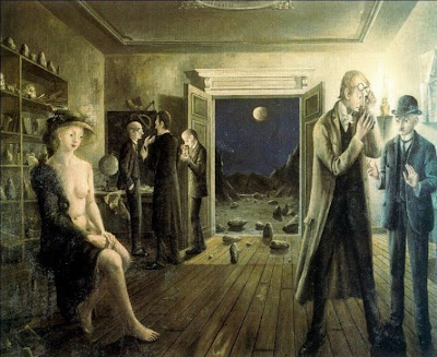 Las fases de la luna II, Paul Delvaux