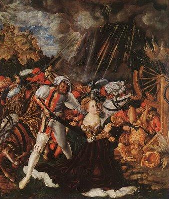 El martirio de santa Catalina, Lucas Cranach el Viejo