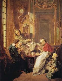 El desayuno, François Boucher