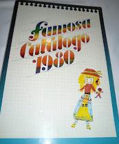 Catálogo Famosa 1980