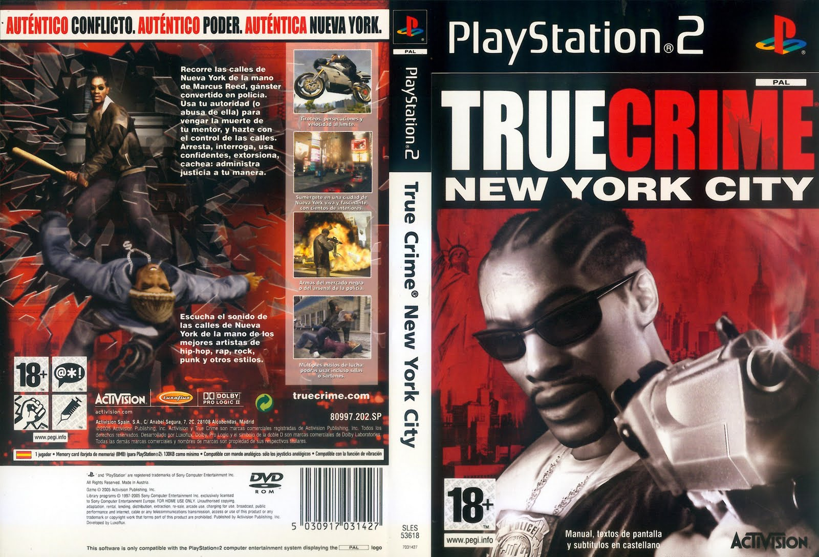 True Crime New York City [NTSC] [ISO] [Ingles] [PS2] [4S]