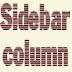 Thêm cột sidebar cho blogger