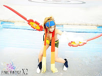 Rikku Final Fantasy Cosplay