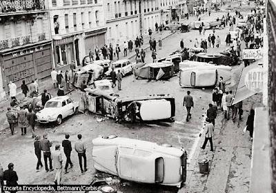 mai68 El graffiti y el poder, el papel de la imaginación en la revolución de mayo del 68