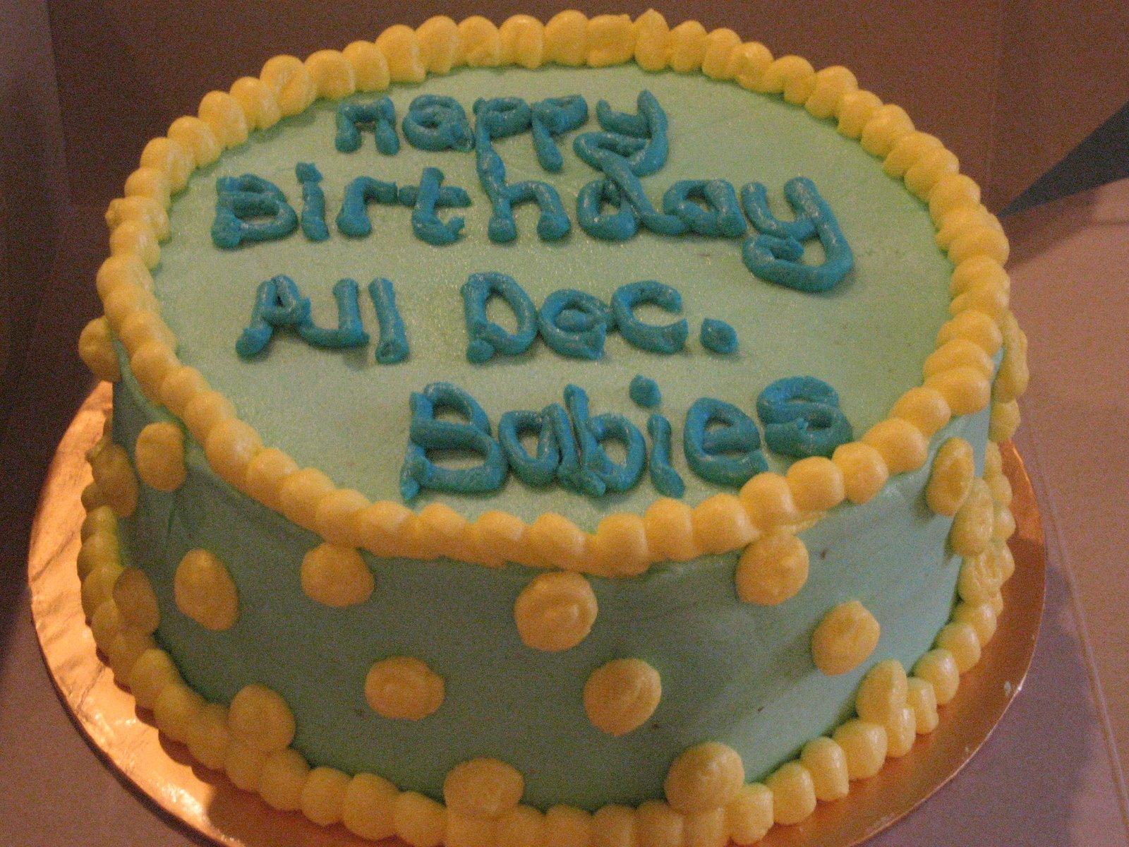 december birthday cakes - HD1600×1200
