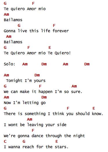 Nice Guitar Songs Bailamos Enrique Iglesias