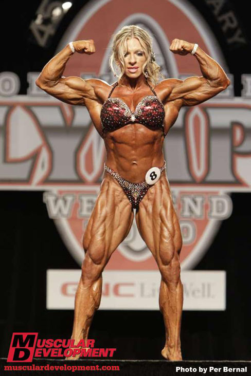 Female Muscle Ms. Olympia 2010