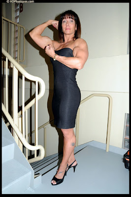 Carrie Walend female muscle HDPhysiques 1