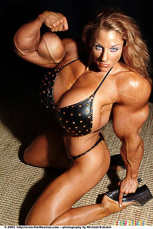 Female Muscle Morphs Lindsay Mulinazzi Female Bodybuilder
